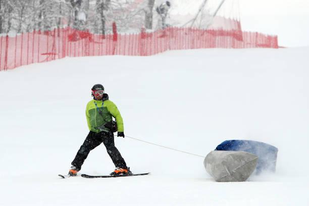 RUS: Audi FIS Alpine Ski World Cup - Women's Super G
