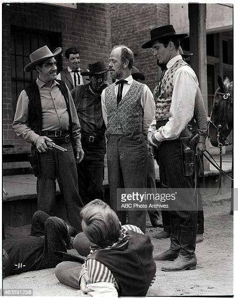 EARP 'Bad Women' Airdate December 31 1957 WILLIAM TANNEN EXTRA WILLIAM PHIPPS PAUL BRINEGAR HUGH O'BRIAN AND CHRIS DRAKE WITH