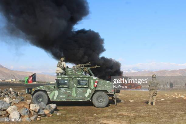Badakhshan police burned 1,300kg of drugs in Faisalabad on 3 January 2020.These materials were obtained during various operations of the Badakhshan...