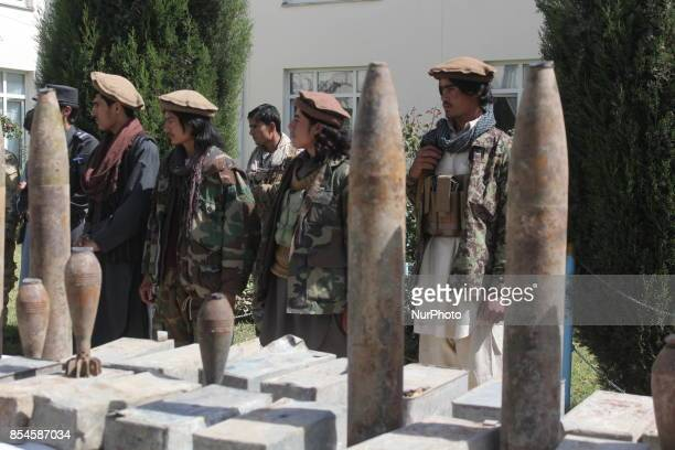 Badakhshan police have gained these ammunitions in two operations separate from two districts of Badakhshan Afghanistan on 27 Septmber 2017 The...