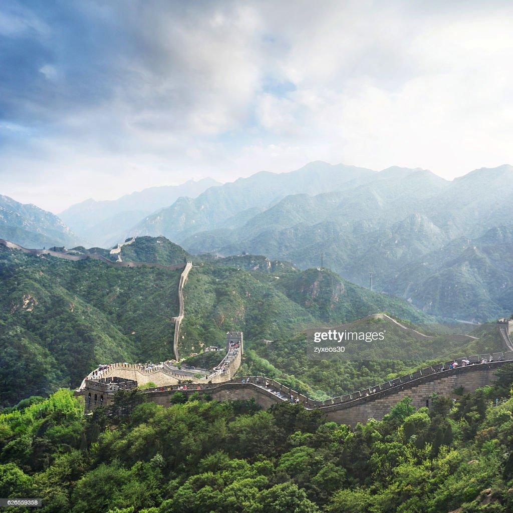 Badaling Great Wallgreat Wall Of China Is The Symbol Of China Stock