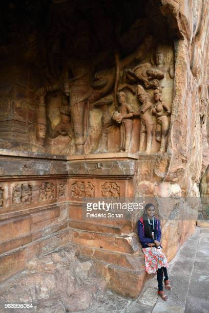 Badami Cave Temples The Badami Cave Temples are composed of four rockcut caves built during the 6th century on January 10 2018 in Hampi India