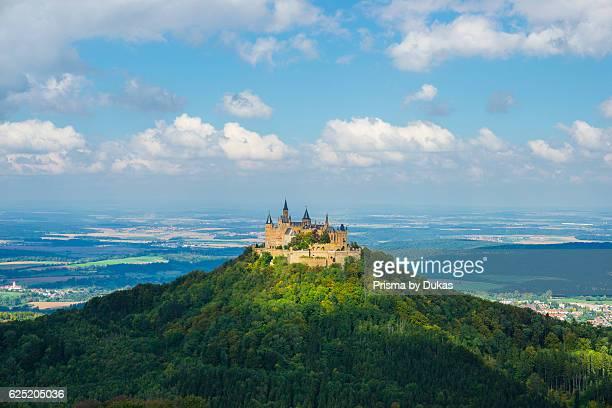 BadenWurttemberg castle castle Hohenzollern castle mountain Germany Europe fortress Swabian alp Zellerhorn Zollerberg Zollernalbkreis