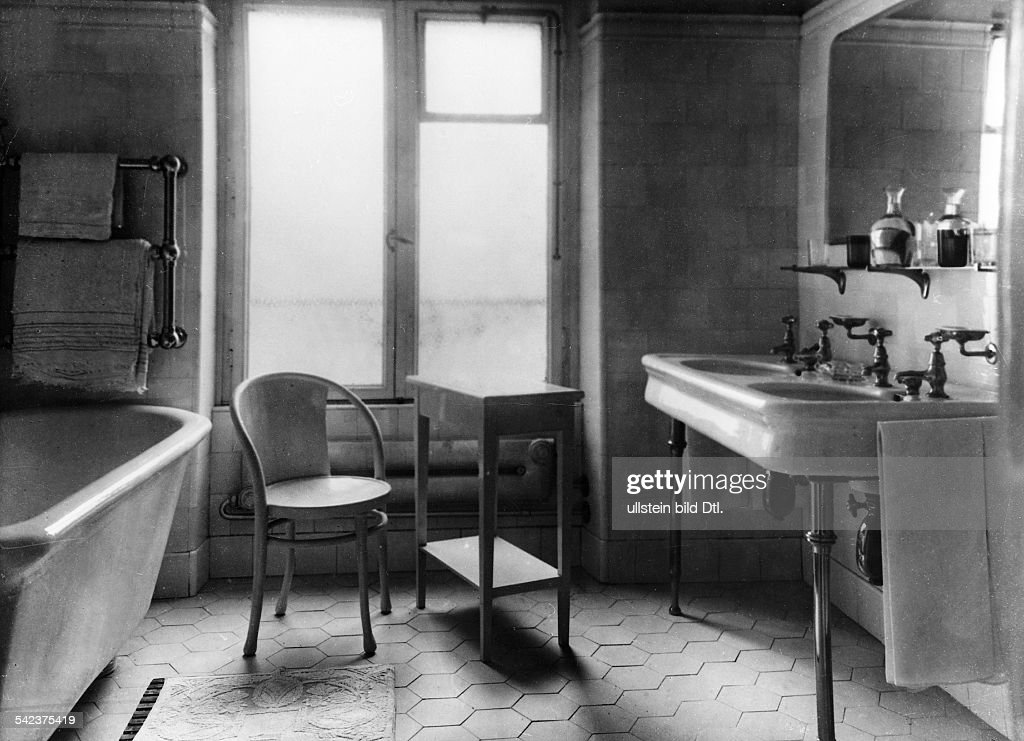 Badezimmer Im Hotel Frankfurter HofFrankfurt Am Main 1929