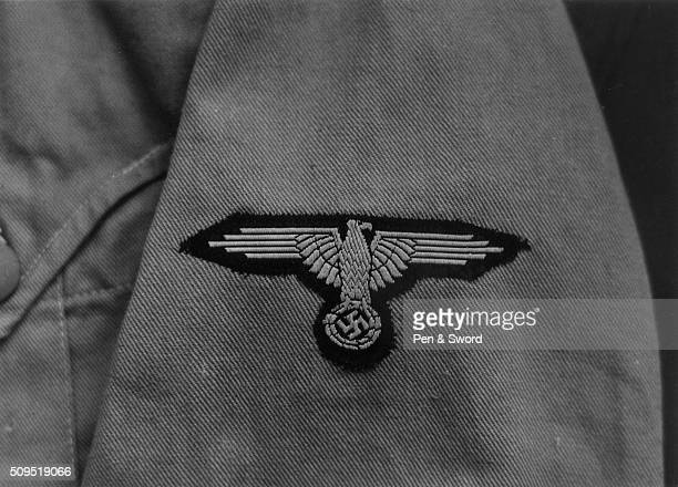 SS badge on a canvas sleeve Germany