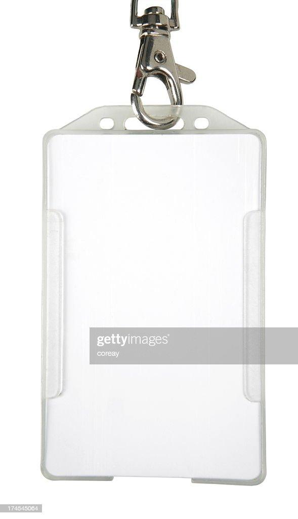 ID badge (XL) : Stock Photo
