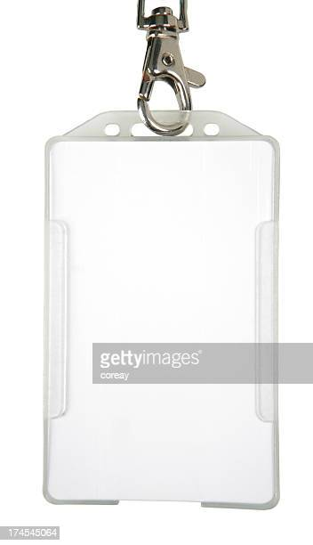 id badge (xl) - name tag stock photos and pictures