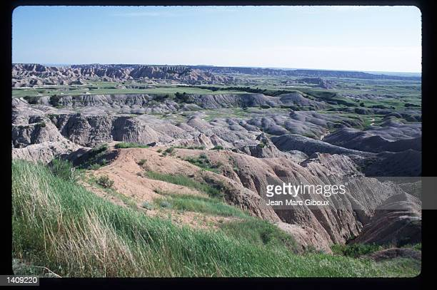 Badland National Park contains 244,000 acres August 1, 1996 in the Black Hills region of South Dakota. Sioux tribe members continue to fight the US...