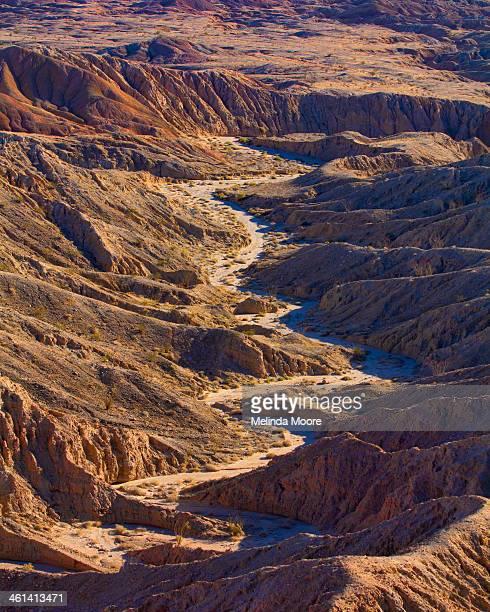 Badlands Anza Borrego Desert