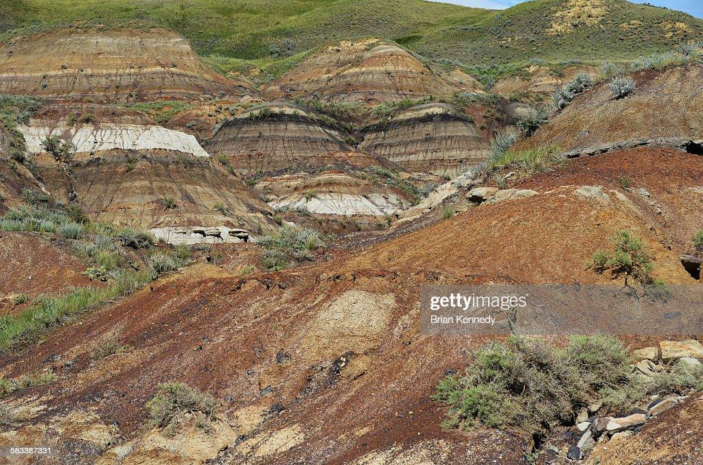 Badlands edge : Stock Photo