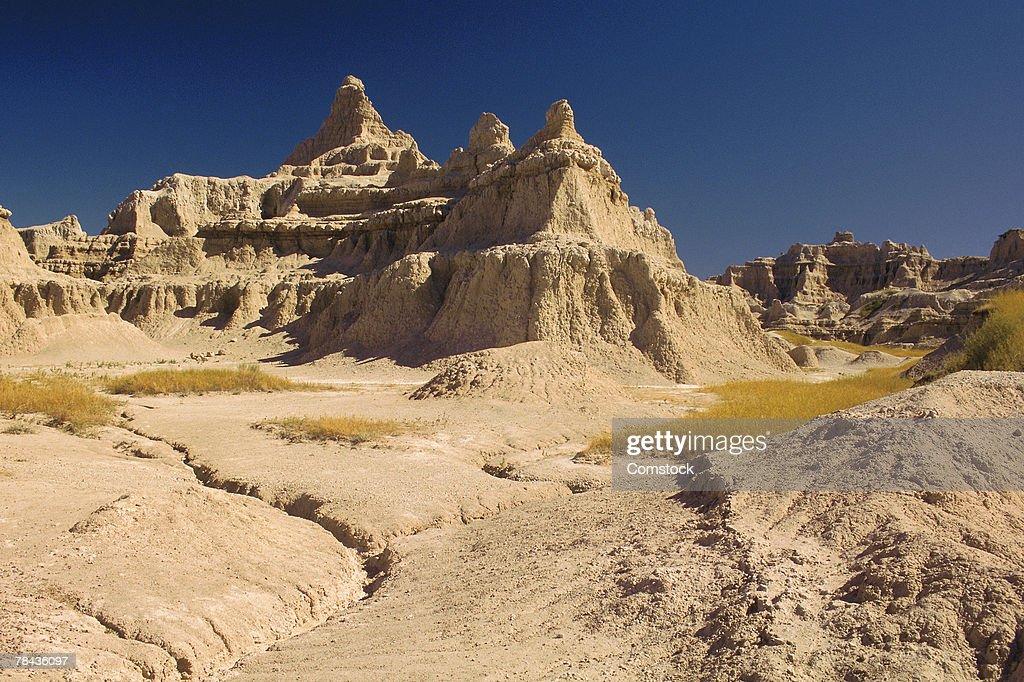 Badlands in South Dakota : Stockfoto
