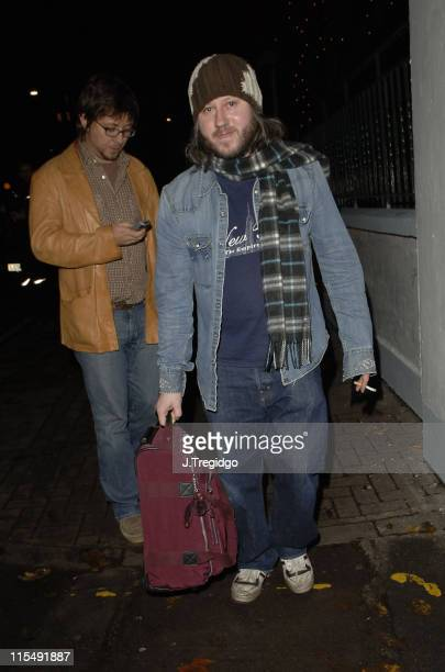 Badly Drawn Boy Damon Gough from Badly Drawn Boy during 'Lennon Live' BBC Radio Tribute Concert December 8 2005 at Abbey Road Studios in London Great...