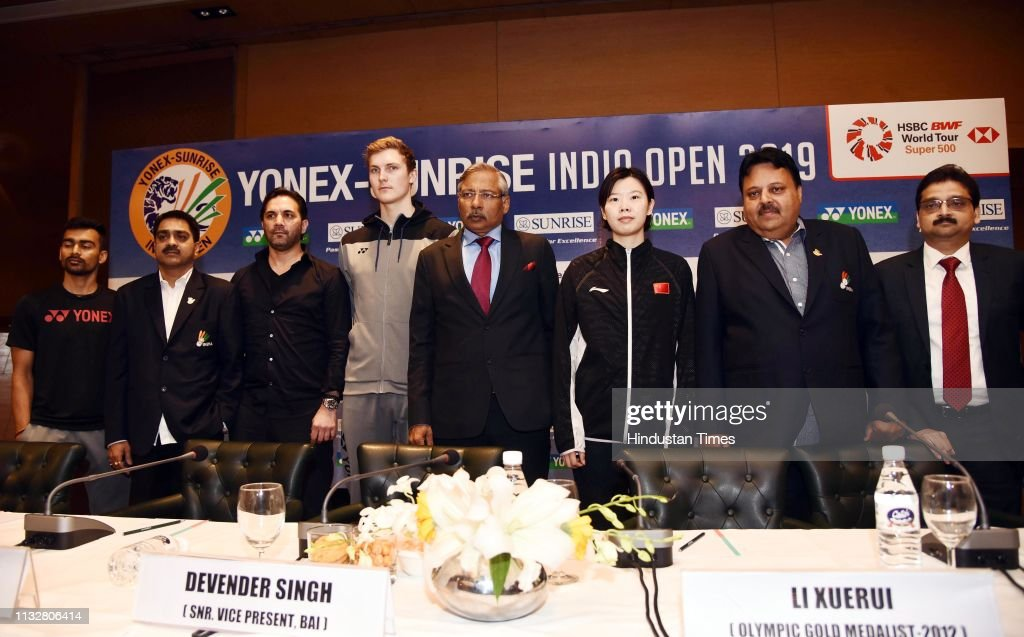 IND: Press Conference Of Yonex-Sunrise India Open 2019