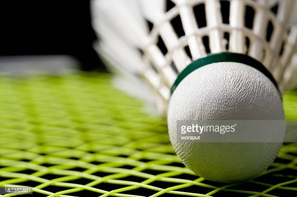 badminton shuttlecock - badminton stock photos and pictures