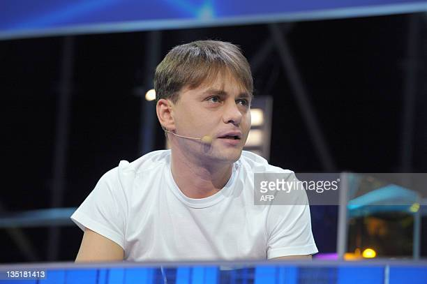 Badoo social network founder Russian Andrey Andreev speaks during a plenary session of LeWeb 11 event in Saint-Denis, a Paris suburb, on December 7,...