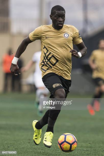 Badou Ndiaye of Osmanlispor Futbol Kulubuduring the Turkish Spor Toto Super Lig football match between Osmalispor Futbol Kulubu and Medipol...