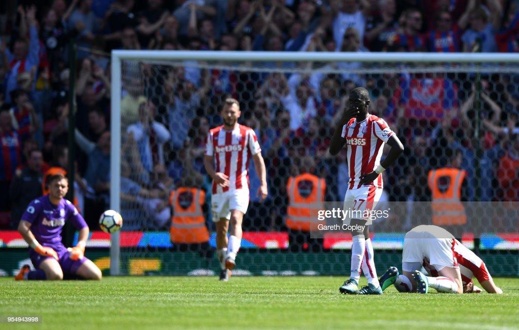 Stoke City v Crystal Palace - Premier League : Foto jornalística