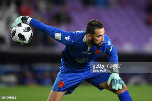 Badreddine Benachour of Wydad Casablanca in action during the FIFA Club World Cup UAE 2017 Match for 5th Place between Wydad Casablanca and Urawa...