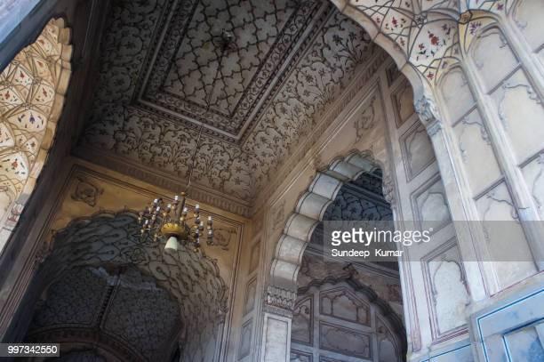 Badshahi Mosque Interior, Lahore