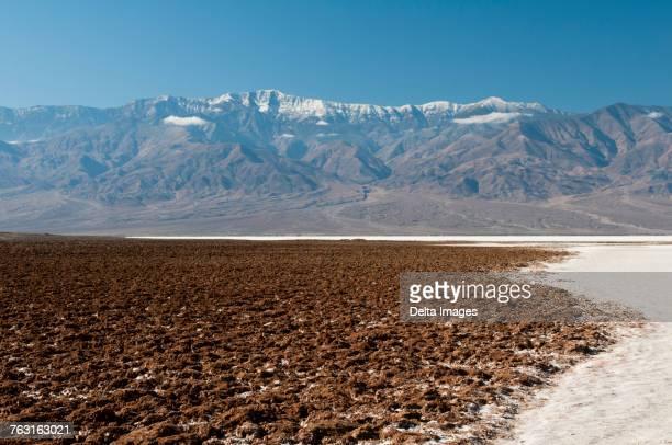 badwater basin, death valley, california, usa - endorheic_basin ストックフォトと画像