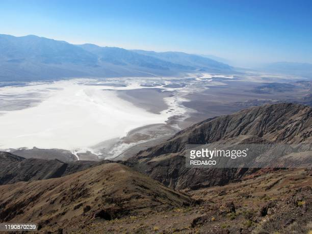 Badwater Basin. Death Valley National Park. California. United States of America. North America.