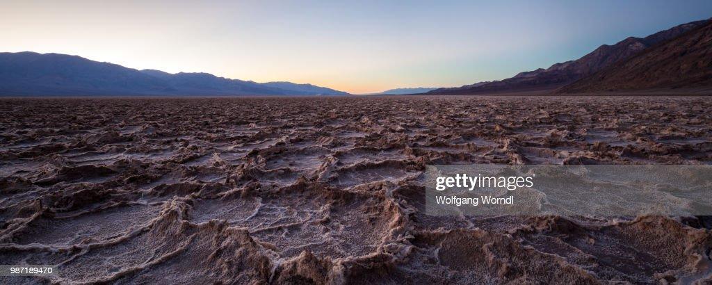 Badwater Panorama : Stock-Foto