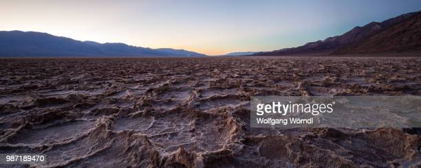 badwater panorama - wolfgang wörndl stock pictures, royalty-free photos & images