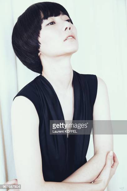 Bae DooNa session portrait during Cannes Film Festival on May 14 2009 in Cannes France