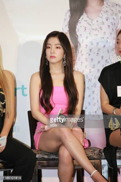 Bae Joohyun of South Korean girl group Red Velvet performs on July 30 2019 in Hong Kong China