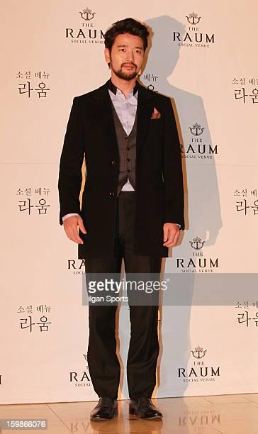 Bae SooBin attends So YuJin's wedding at the Raum on January 19 2013 in Seoul South Korea