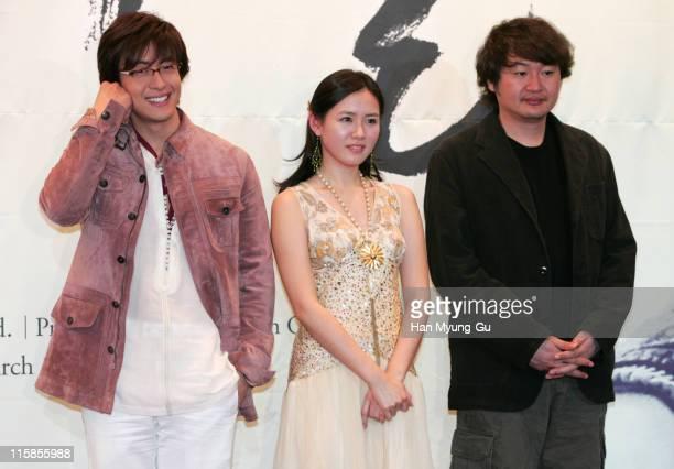 Bae YongJoon and Son YeJin and Hur JinHo director