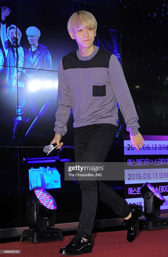 2015 SM Town Screen Show in Seoul : Fotografía de noticias
