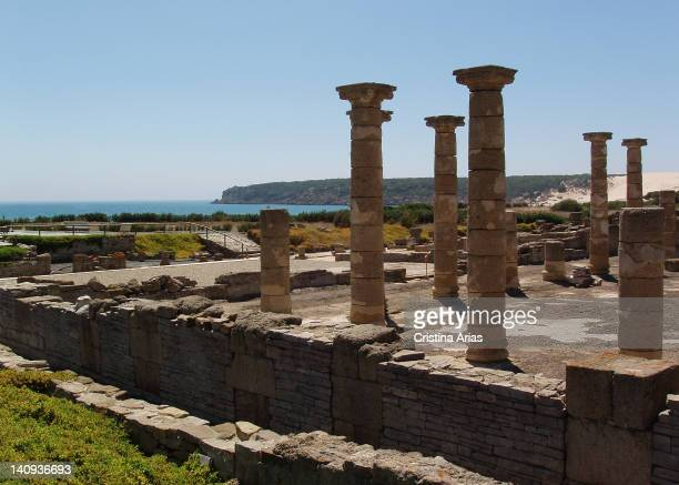 Baelo Claudia archaeological site, located in the Bolonia Bay, in the Nature reserve of the Strait, about 12 km from Tarifa, it was a Roman city that...