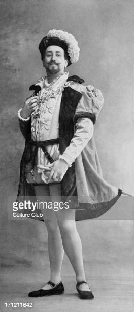 M F Baer as Duke of Norfolk M F Baer as Duke of Norfolk in 'Henry VIII' the opera in four acts by Camille SaintSaëns with libretto by Léonce Détroyat...