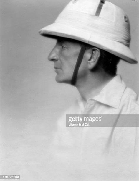 S M Baer Sportsman Polo player Portrait with a riding helmet about 1927 Photographer Mario von Bucovich Published by 'Die Dame' 17/1927 Vintage...