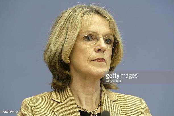 Baerbel Dieckmann Politikerin SPD D stellvertretende Vorsitzende der SPD Oberbürgermeisterin von Bonn