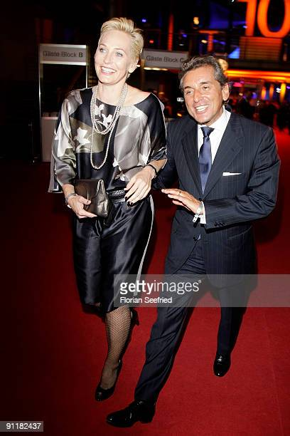 Baerbel Schaefer And Husband Michelle Friedmann Attend The After Show Party Of The German Tv Award