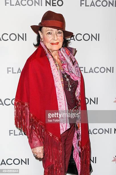Baerbel Wierichs mother of Natascha Ochsenknecht attends the Flaconi Neo Salon Opening on October 29 2015 in Berlin Germany