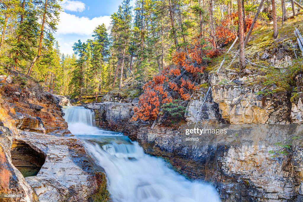 Baeuty Creek Falls : Stockfoto