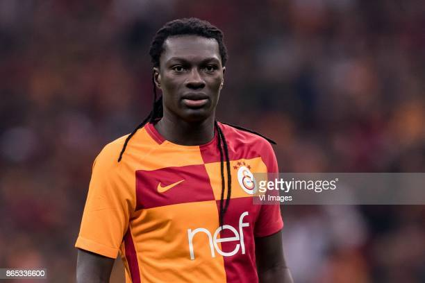 Bafetimbi Gomis of Galatasaray SK during the Turkish Spor Toto Super Lig football match between Galatasaray SK and Fenerbahce AS on October 22 2017...