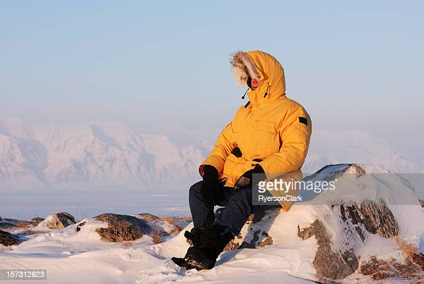 baffin island. - nunavut stock pictures, royalty-free photos & images
