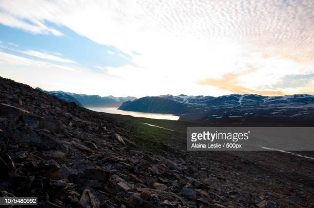 baffin sunset