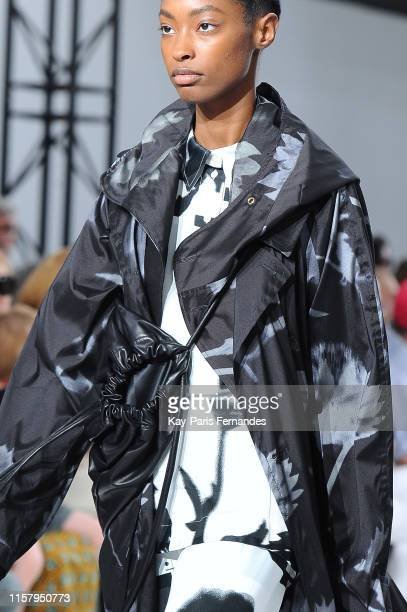 Bag and she detail during the Paul Smith Menswear runway Spring Summer 2020 show as part of Paris Fashion Week on June 23, 2019 in Paris, France.