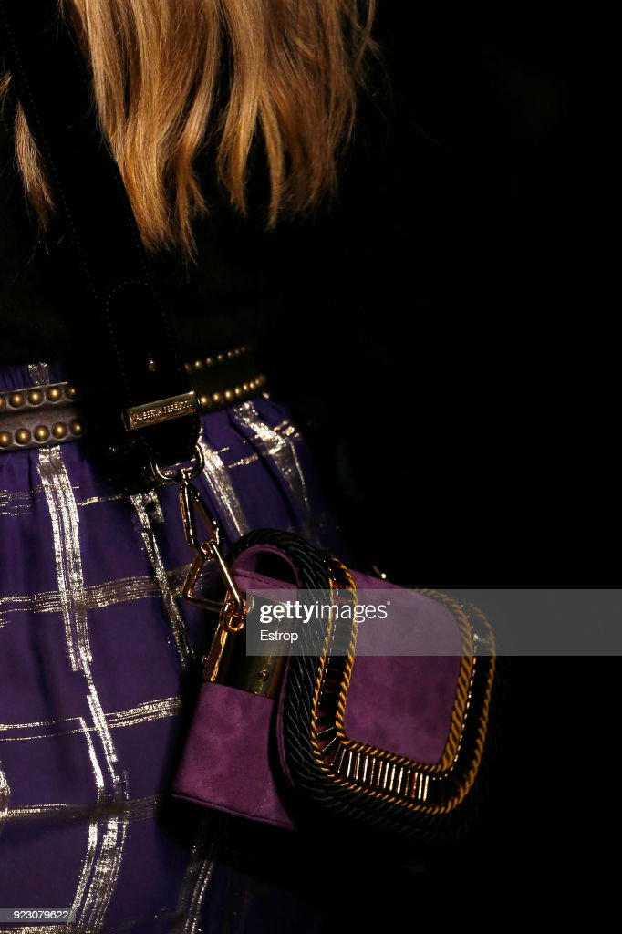 Alberta Ferretti - Details - Milan Fashion Week Fall/Winter 2018/19 : ニュース写真