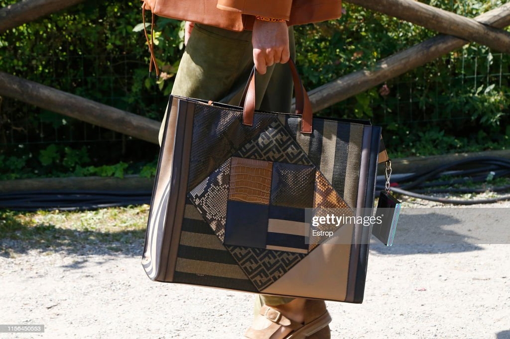Bag Detail At The Fendi Fashion During Milan Men S Fashion Week News Photo Getty Images