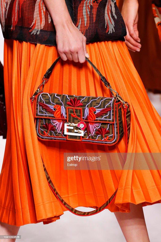 Fendi - Details - Milan Fashion Week Spring/Summer 2019 : News Photo