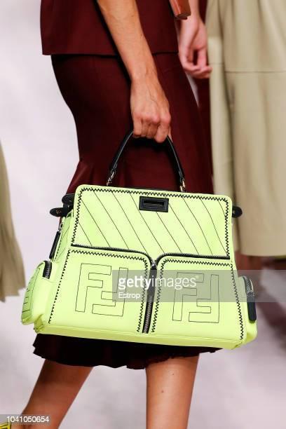 Bag detail at the Fendi show during Milan Fashion Week Spring/Summer 2019 on September 20 2018 in Milan Italy