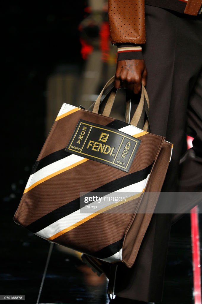 bf29e13a636d Fendi - Details - Milan Men s Fashion Week Spring Summer 2019   News Photo