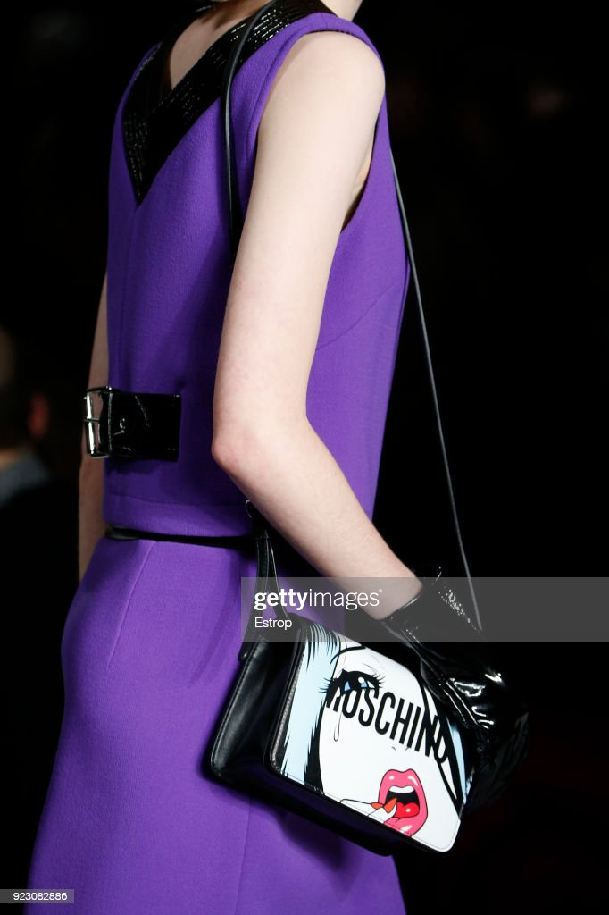 Moschino - Details - Milan Fashion Week Fall/Winter 2018/19 : Photo d'actualité