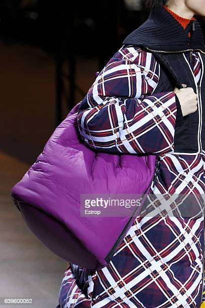 Bag detail at the runway during the Kenzo Menswear Fall/Winter 20172018 show as part of Paris Fashion Week on January 22 2017 in Paris France